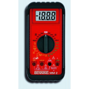 Benning MM 2 Multimeter digital manuell/automatisch