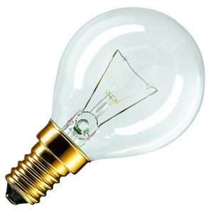 Philips LM Appl 40W E14 230V P45 CL OV 1CT/10X Backofenlampe 40W klar