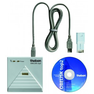 Theben PC-Set OBELISK top2 PC-Programmierset PC-Programmierset für Windows 2000