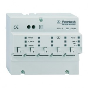 Rutenbeck SRS 5 Switch REG 10 Gigabit Ethernet