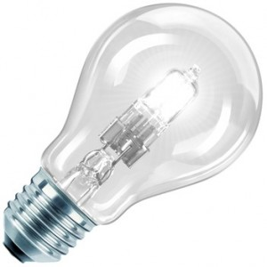 Philips LM EcoClassic 28W E27 230V A55 CL 1CT/ HV-Halogenlampe 28W klar