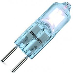 Philips LM EcoHalo Cap 25W GY6.35 12V CL 1BC/1 NV-Halogenlampe 25W klar