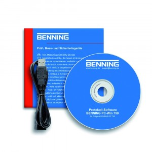 Benning PC-WIN 750 Dokumentation Software