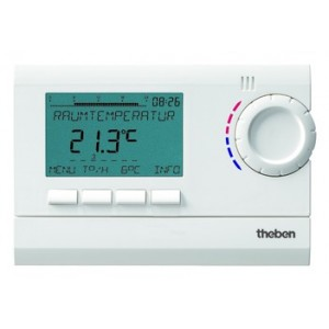 Theben RAMSES 812 top2 Uhrenthermostat digital 230V
