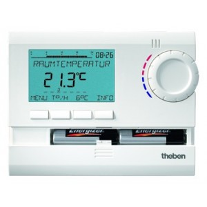 Theben RAMSES 811 top2 Uhrenthermostat digital 3V