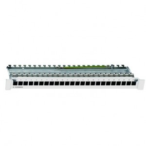 Rutenbeck PP-UM-Cat.6A iso-24/24/1 basic Patchpanel 1HE 24Ports