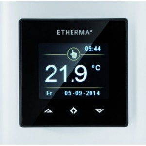 ETHERMA eTouch-mini-white Uhrenthermostat digital 230V
